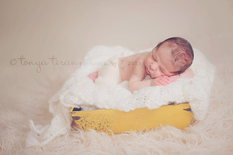 Washington, DC newborn photographer | Tonya Teran Photography - newborn prop pose