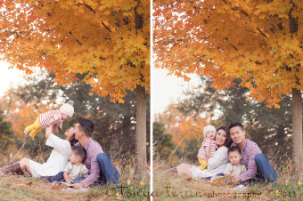 Fall family photography | Tonya Teran Photography, Rockville, MD