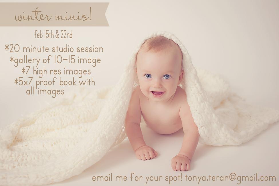 Rockville, MD Studio Mini Session Photographer | Tonya Teran Photography