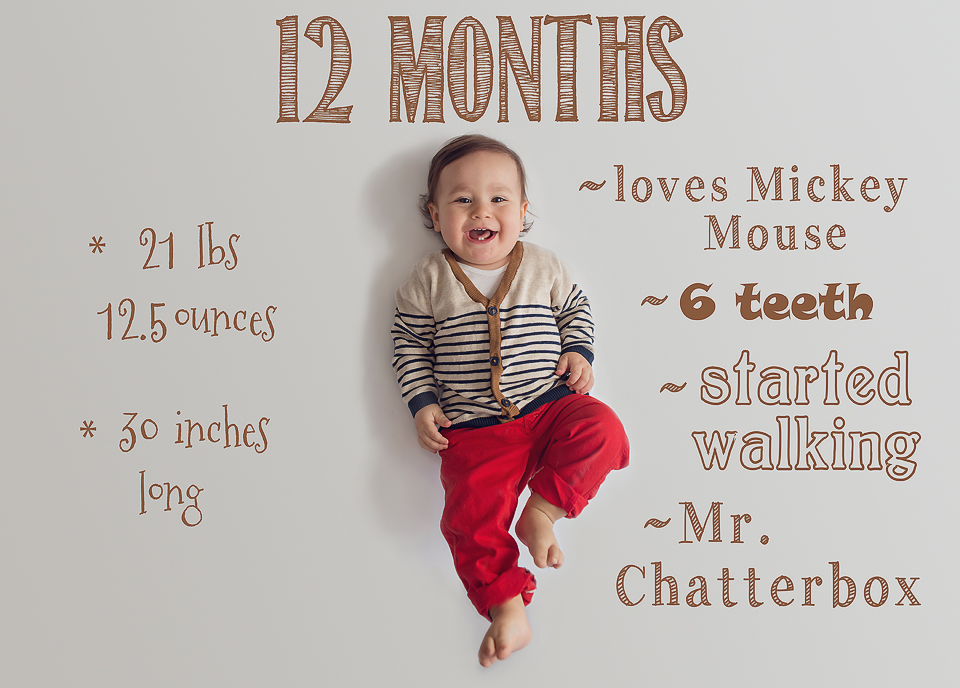Baby monthly pictures | Bethesda, MD Newborn Baby and Family Photographer - Tonya Teran Photography