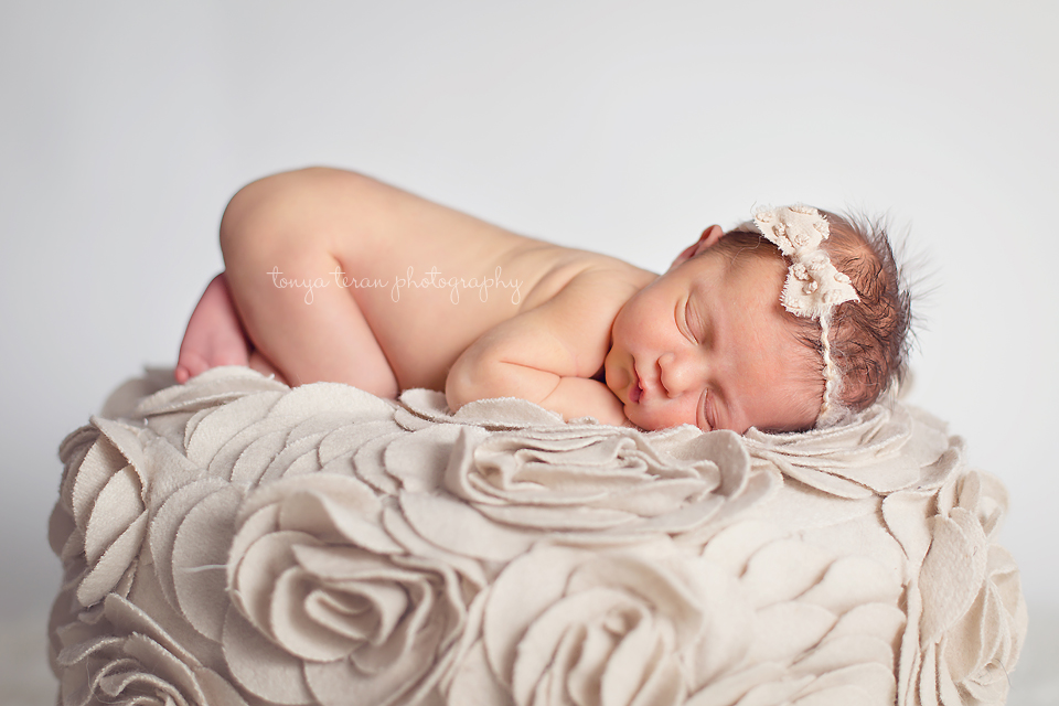 Sleeping newborn pose | Rockville, MD Newborn Baby and Family Photographer