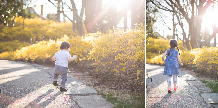 kids running in the sun | Tonya Teran Photography - Rockville, MD Newborn Baby and Family Photography