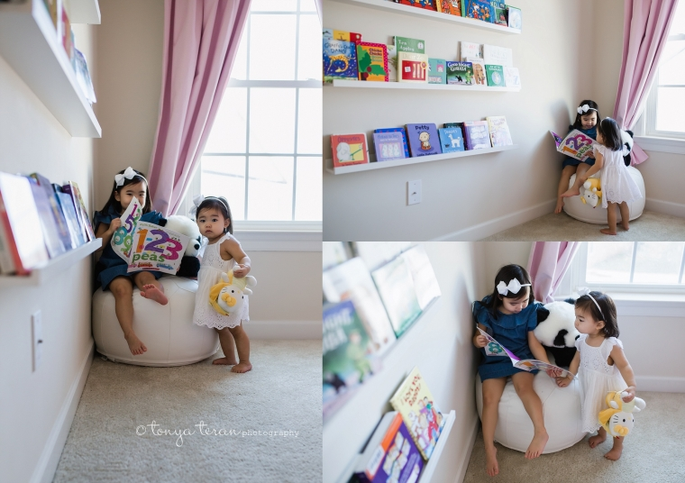 In-home Mini Family Photo Session | Tonya Teran Photography, Potomac, MD Best Newborn, Baby, and Family Photographer