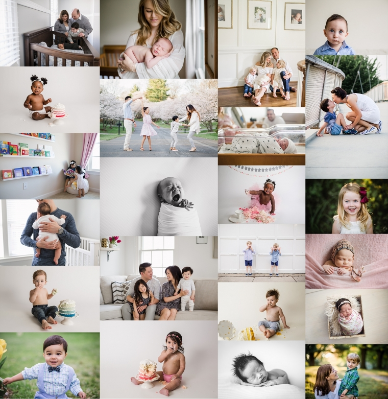 Newborn Baby and Family Photo Session | Tonya Teran Photography, DC, MD, VA Best Newborn, Baby, and Family Photographer