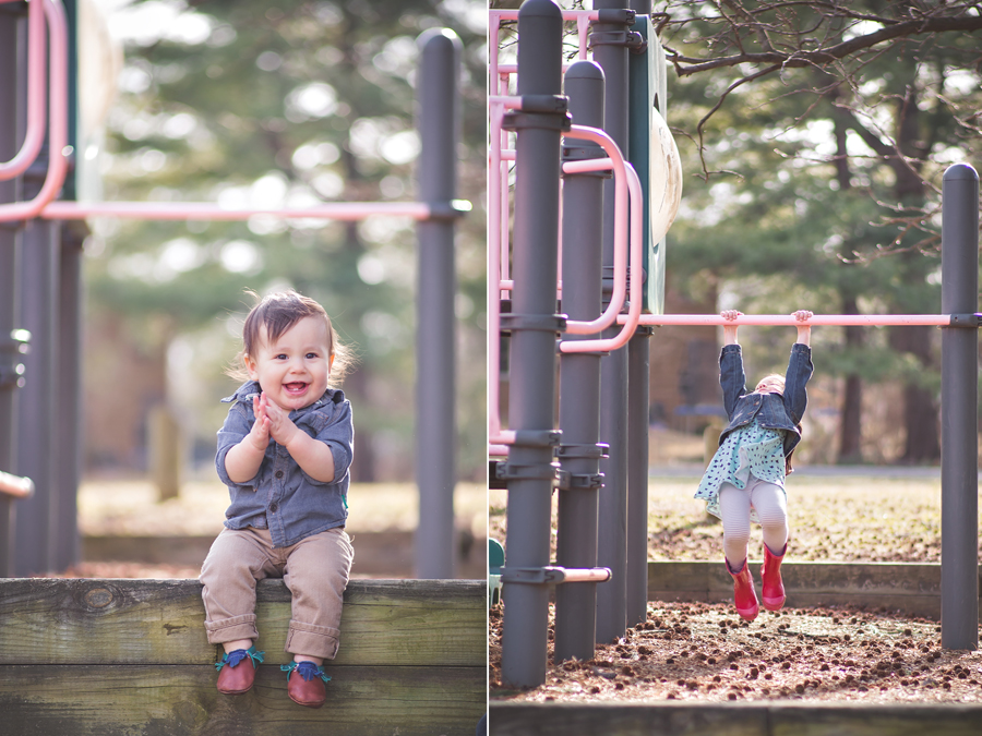 photography at the playground | Tonya Teran Photography - Rockville, MD Newborn Baby and Family Photography