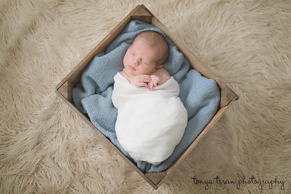 Sleeping newborn pose - Tonya Teran Photography - Rockville, MD Newborn Baby and Family Photographer