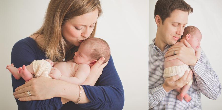 newborn family pose - Tonya Teran Photography - Rockville, MD Newborn Baby and Family Photographer