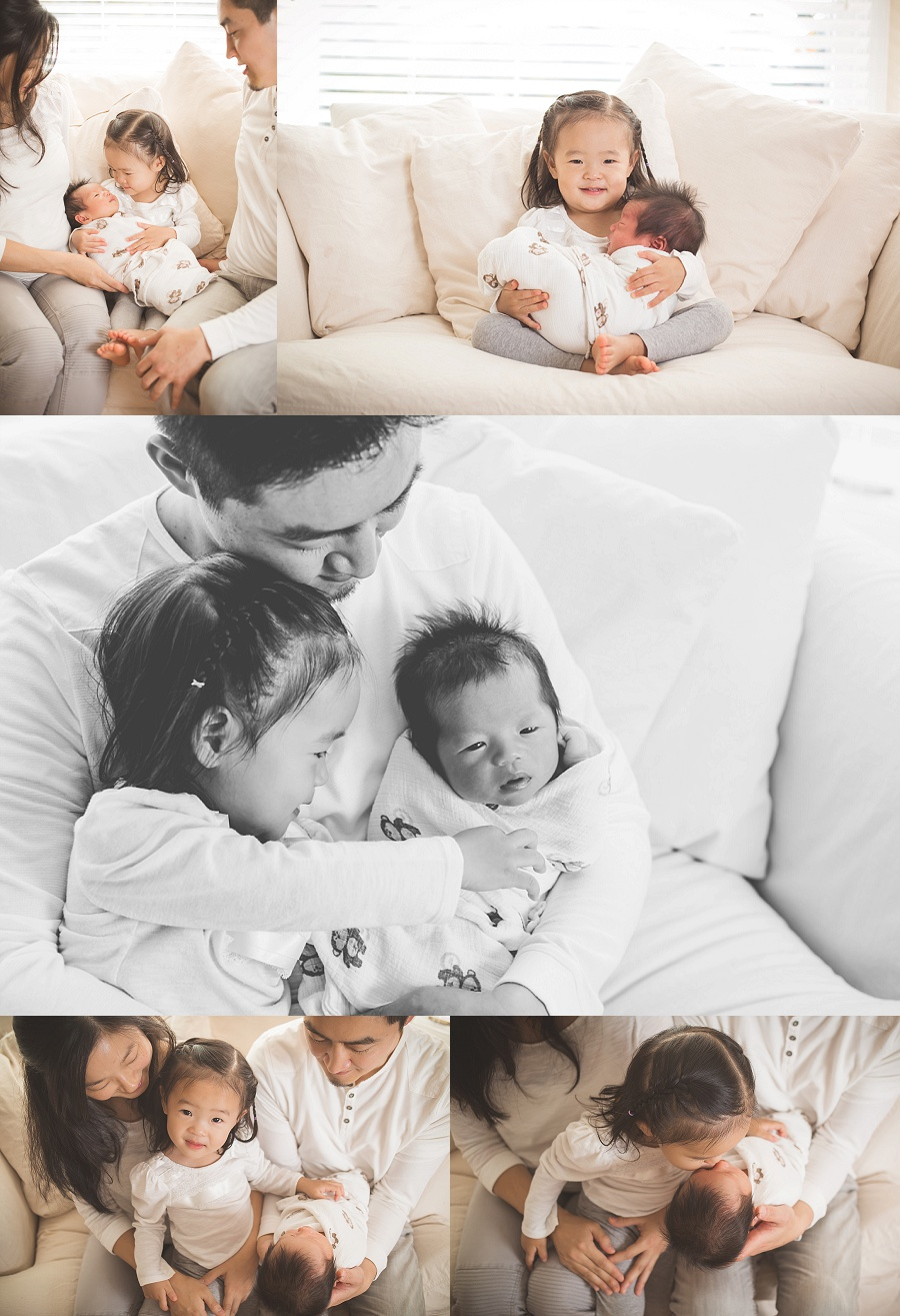 lifestyle newborn and family session   Tonya Teran Photography - Rockville, MD newborn baby and family photographer