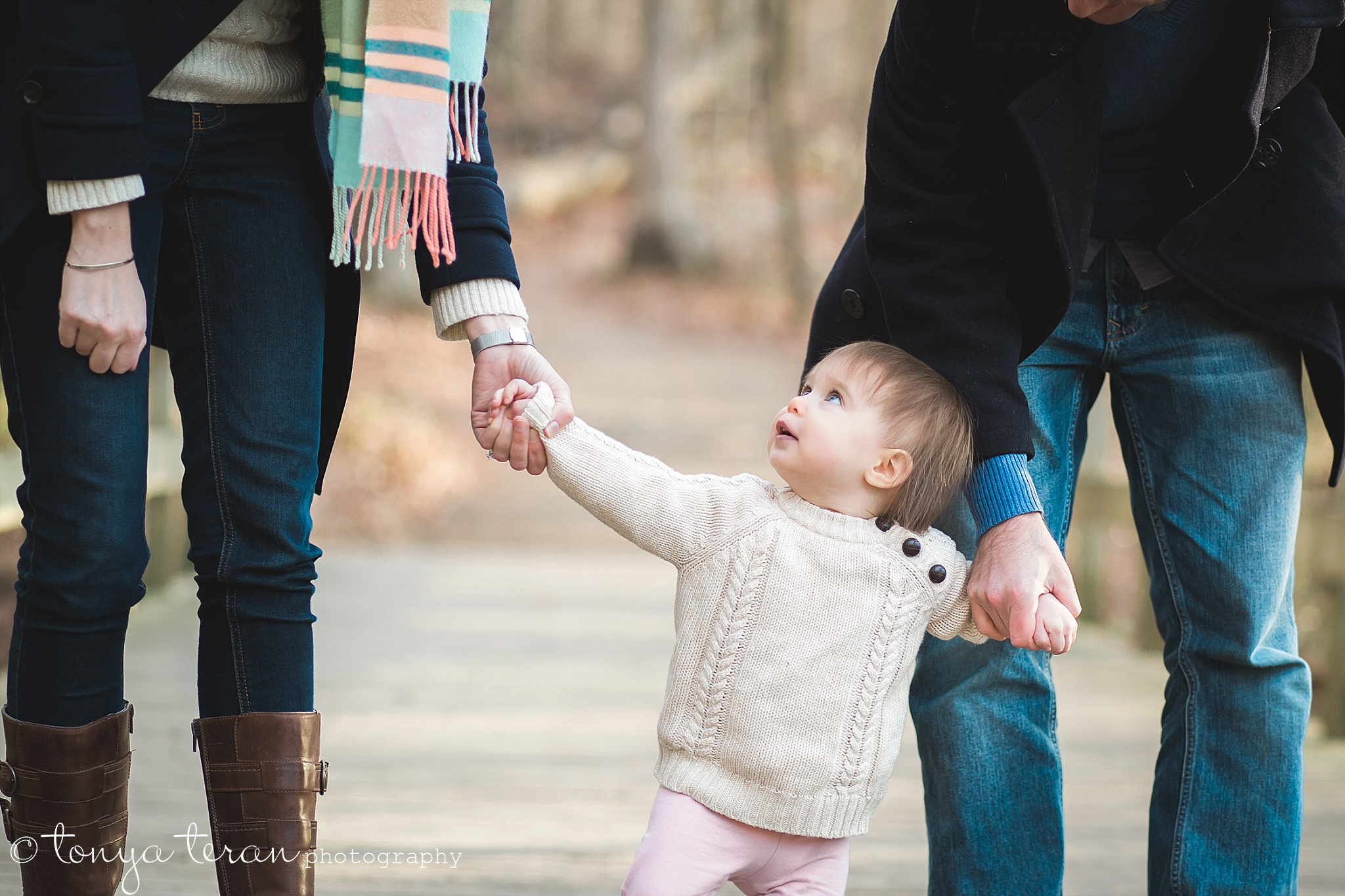 Outdoor Fall Family Photo Session | Tonya Teran Photography, Rockville, MD Newborn, Baby, and Family Photographer