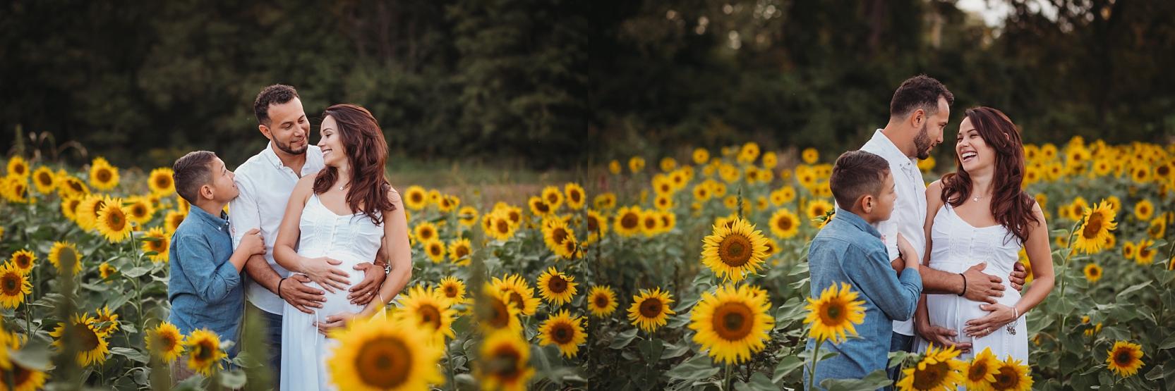 potomac-md-sunflower-field-maternity-photographer